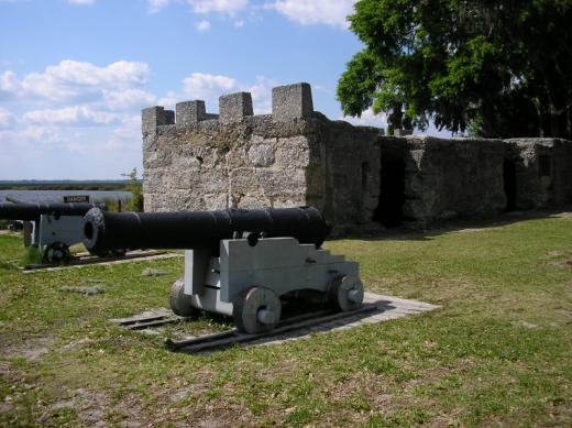 Cannon at Fort Frederica, GA