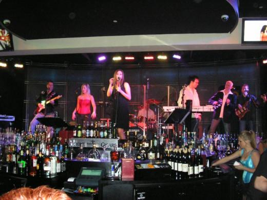 Band at Imperial Palace casino, Biloxi, Mississippi
