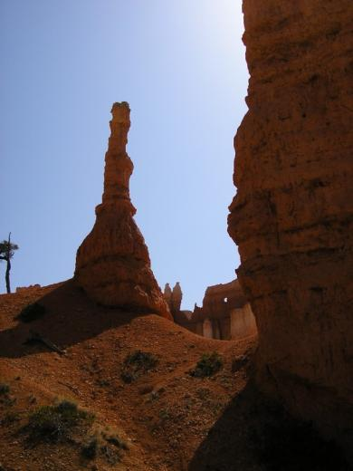 Spire hoodoo, Bryce Canyon national park, UT