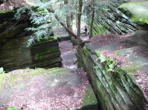 Ledges, Cuyahoga Valley NP, Ohio