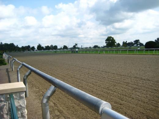 Keeneland's racetrack, Lexington, KY